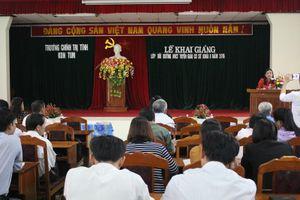 Hướng dẫn thực hiện Chương trình bồi dưỡng nghiệp vụ công tác tuyên giáo ở cơ sở