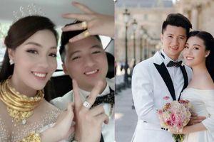 Đám cưới nhà người ta: Cô dâu đeo trên người 'sương sương' hơn chục cây vàng, tiết lộ lấy được chú rể doanh nhân chỉ vì cái 'lỡ tay'
