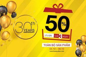 Hoang Phuc International - 30 năm là địa chỉ yêu thích của giới trẻ