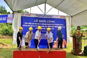 Khởi công dự án cấp điện cho 15 bản ở huyện biên giới Mường Nhé