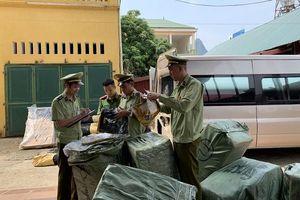 Lạng Sơn: Tạm giữ lô hàng may mặc trị giá trên 80 triệu đồng