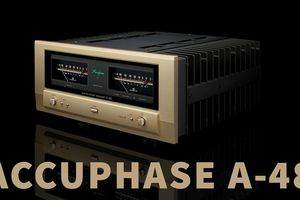 Accuphase A-48 - Thay thế A-47, công suất 45W Class A , chỉ số damping factor rất cao đạt 800