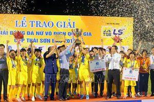 Giải bóng đá nữ vô địch quốc gia Cup Thái Sơn Bắc 2019: TP Hồ Chí Minh 1 đăng quang