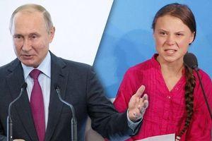 Greta Thunberg thay đổi chi tiết hồ sơ sau bình luận của ông Putin