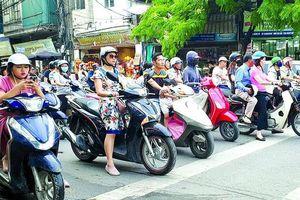 Ô nhiễm không khí: Báo động nguồn phát thải từ xe máy