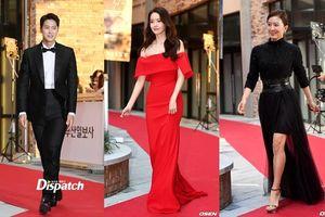 'LHP Busan 2019' ngày 2: Kim Hee Ae quý phái, Yoona (SNSD) khoe vai trần quyến rũ trên thảm đỏ