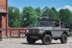 Hàng độc Mercedes-Benz G-Class độ từ xe quân đội gây 'sốc' về giá