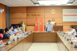 Ủy ban Tài chính - Ngân sách họp phiên toàn thể lần thứ 38