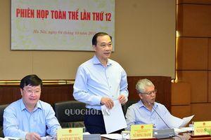Ủy ban Kinh tế tổ chức họp phiên toàn thể lần thứ 12