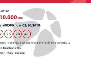 Kết quả xổ số Vietlott Mega 6/45 ngày 4/10/2019