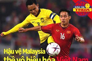 Hậu vệ Malaysia thề vô hiệu hóa hàng công tuyển Việt Nam