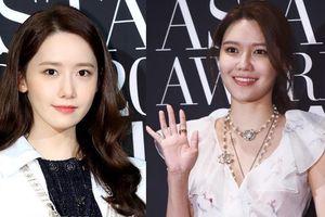 Hai thành viên SNSD tụ hội, nhan sắc lấn át Hoa hậu đẹp nhất Hàn Quốc