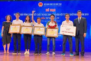 Đại học Bách khoa Hà Nội giành giải Nhất SV - STARTUP 2019