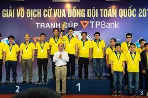 TP.HCM thắng áp đảo tại Giải cờ vua đồng đội toàn quốc 2019