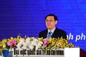 Phó thủ tướng Vương Đình Huệ dự Lễ khai khóa 2019 Đại học Quốc gia TP Hồ Chí Minh