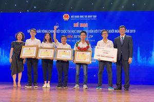 Sinh viên Bách khoa giành giải Nhất SV-Startup 2019