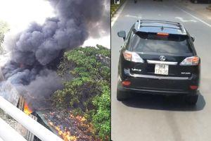 Trần tình của tài xế Lexus không nhường đường xe cứu hỏa