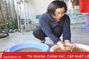 Tìm ra nguyên nhân nước máy ở Thiên Lộc có màu vàng đục, lắng cặn