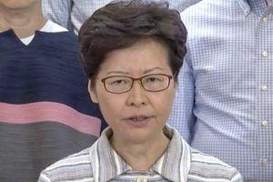 Trưởng Đặc khu Hong Kong: Không khoan dung cho những kẻ bạo loạn