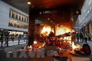 Liên hợp quốc lo ngại tình hình bạo lực ở Hong Kong