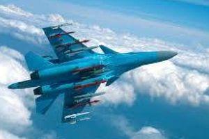 F-16 Bỉ 'khóa mục tiêu' Su-34 của Nga trên máy ảnh nhiệt
