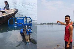 Bỏ mặc xe ba gác trôi sông, người đàn ông ở Thanh Hóa cứu sống 3 cháu nhỏ đuối nước