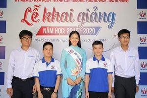 Hoa hậu Việt Nam Trần Tiểu Vy trở thành Đại sứ Sinh viên