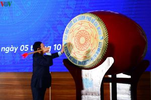 Phó Thủ tướng Vương Đình Huệ dự Lễ khai khóa tại ĐHQG TPHCM