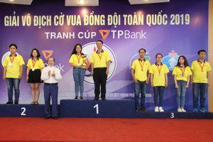 Đội TPHCM thắng lớn tại giải vô địch cờ vua đồng đội toàn quốc