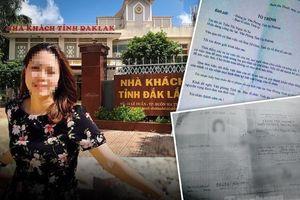 Chị gái nữ trưởng phòng ở Tỉnh ủy Đắk Lắk nói 'hoàn toàn không biết Thảo lấy bằng cấp hay giấy tờ gì'
