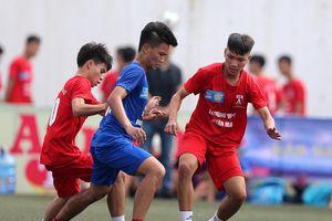 Kết quả 10 trận mở màn giải bóng đá học sinh THPT Hà Nội sáng 6-10