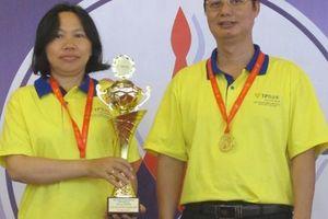 Hai thầy trò đoạt 3 HCV Giải cờ vua đồng đội toàn quốc