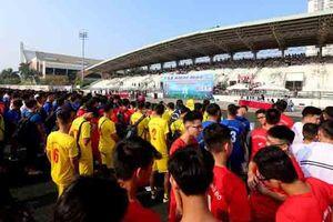 Khai mạc giải bóng đá học sinh THPT Báo An ninh Thủ đô lần thứ 19