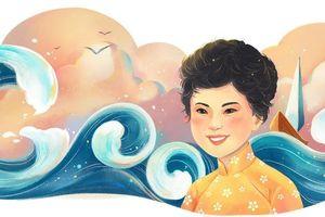 Google tôn vinh thi sĩ Xuân Quỳnh: 'Khát khao tìm kiếm tình yêu'