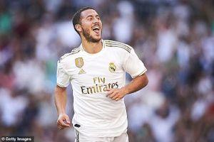 Eden Hazard ghi bàn đầu tiên cho Real Madrid