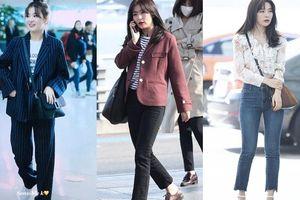 Đây là những item đơn giản giúp Seulgi (Red Velvet) 'mặc đẹp quên sầu' trong mùa Thu