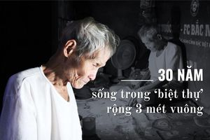 Ông lão gần 30 năm sống trong nhà 3m2 ở phố cổ Hà Nội: 'Tôi ở đây còn sướng chán, đây là biệt thự của riêng tôi'