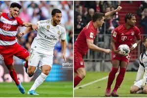 Kết quả các giải châu Âu: Real thắng đậm, Bayern Munich thua sốc