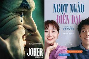 Phim 'Joker' thống trị phòng vé Hàn Quốc tuần đầu tiên ra mắt - Phim 'Ngọt ngào điên dại' vượt mốc 1 triệu khán giả