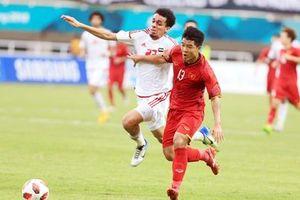 Tuyển UAE mất nhiều trụ cột trận so tài với U22 Việt Nam