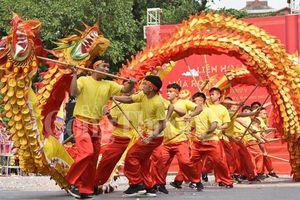 Liên hoan múa Rồng truyền thống Hà Nội 2019