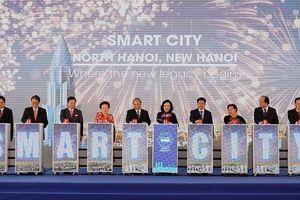 Hà Nội động thổ dự án thành phố thông minh hơn 4 tỷ USD �