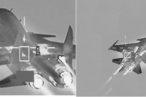 Bỉ điều F-16 bám đuôi, ngắm bắn Su-34 Nga trên biển Baltic