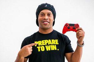 Ronaldinho chuẩn bị thành lập đội tuyển Esports mang tên của chính mình