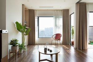 Căn hộ 74m² thoáng rộng nhờ thiết kế không tường ngăn theo phong cách tối giản của cặp vợ chồng trẻ Hà Nội