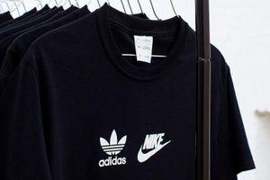 Thu giữ hàng trăm bộ quần áo Adidas, Nike nhái tại Lạng Sơn