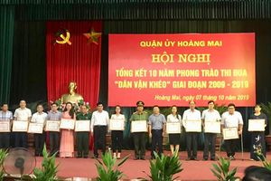 Hoàng Mai: 'Dân vận khéo' để phát triển sản xuất, thoát nghèo bền vững