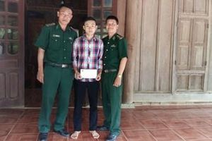 Dũng cảm vượt lũ cứu hai người bị nạn