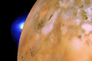 Tiết lộ đáng sợ từ núi lửa trên Mặt trăng iO, sao Mộc