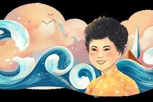 Nữ thi sỹ Xuân Quỳnh được Google vinh danh